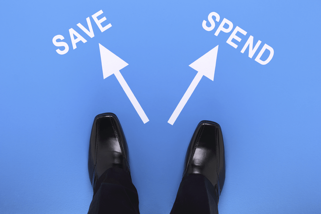 Plan Spending Increase Saving