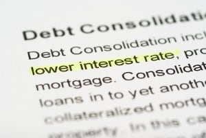 Debt Consolidation Lower Interest Rate
